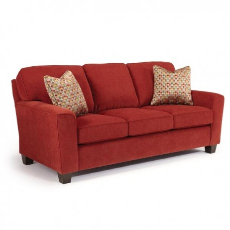 Annabel Sofa Collection w/ Flared Arm & Open Leg