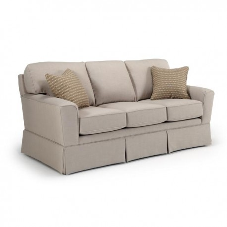 Annabel Sofa Collection w/ Flared Arm & Skirt