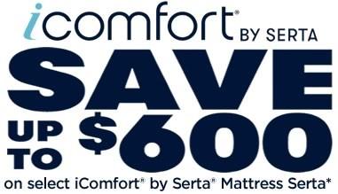 Serta iComfort Mattress Sale